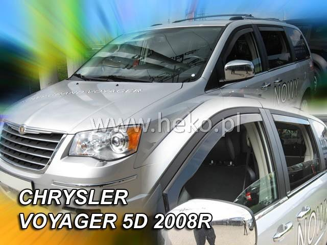 Heko • Ofuky oken Chrysler Voyager grand 2008- • sada 2 ks