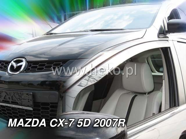 Heko • Ofuky oken Mazda CX-7 2006- • sada 2 ks