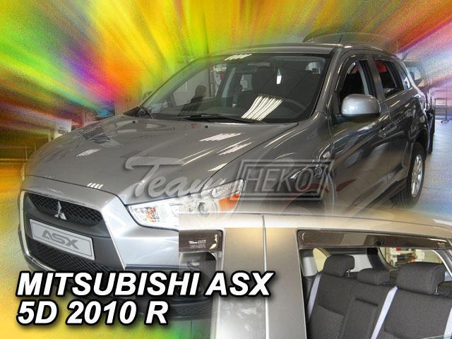 Heko • Ofuky oken Mitsubishi ASX 2010- (+zadní) • sada 4 ks