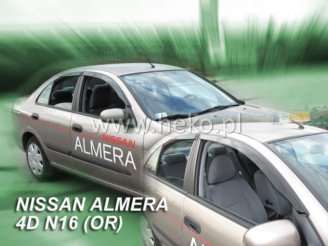 Heko • Ofuky oken Nissan Almera N16 2000- htb • sada 2 ks
