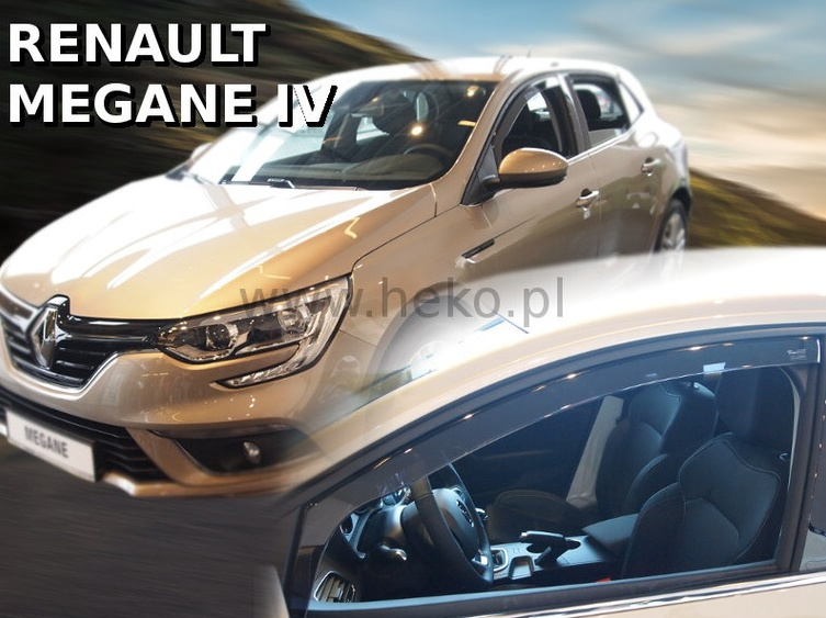 Ofuky oken Renault Megane IV 2016-