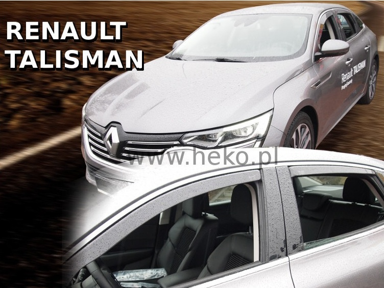 Ofuky oken Renault Talisman 2016-2017 (+zadní) Sedan