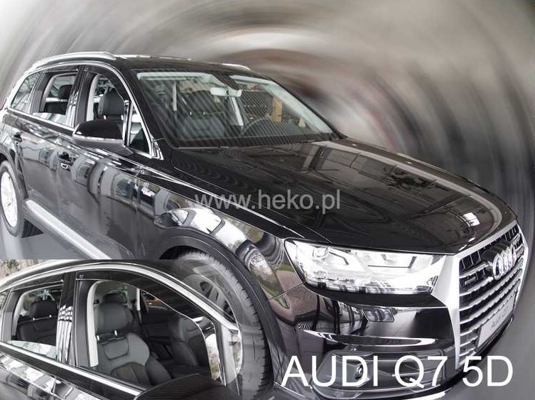 Ofuky oken Audi Q7 2015-2017 (+zadní)