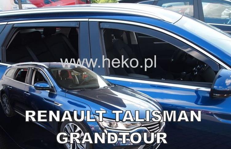 Ofuky oken Renault Talisman 2016- (+zadní) Grandtour