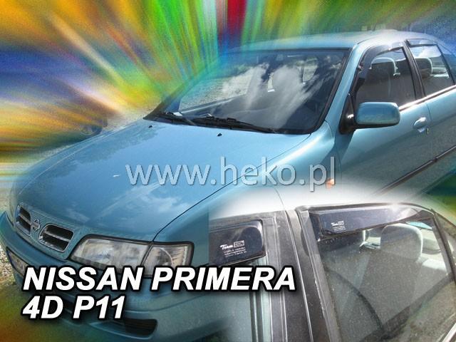 Heko • Ofuky oken Nissan Primera P11 96--02 (+zadní) • sada 4 ks