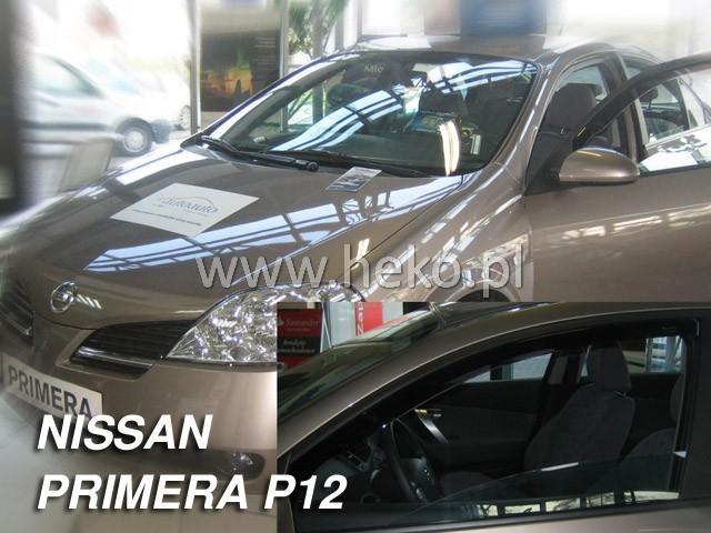 Heko • Ofuky oken Nissan Primera P12 2002- • sada 2 ks