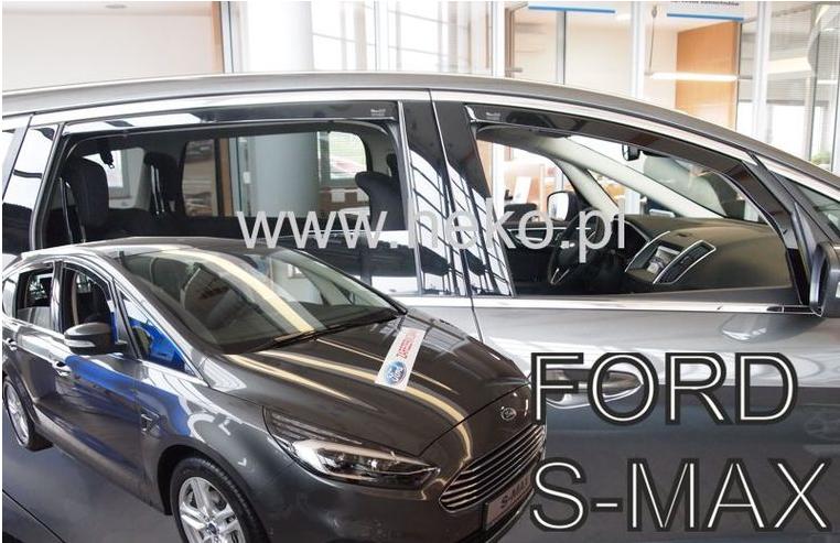 Ofuky oken Ford S-Max II 2015-2017 (+zadní)