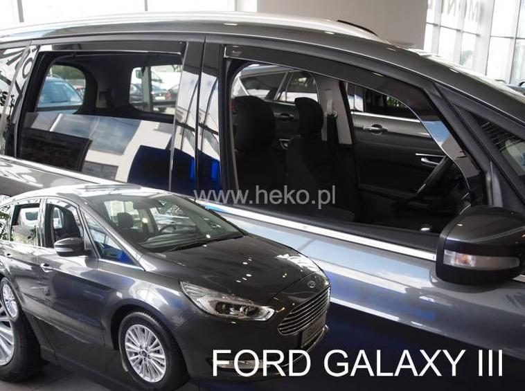 Ofuky oken Ford Galaxy 2015-2016 (+zadní)