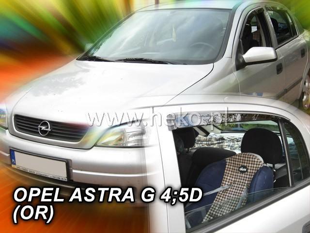 Heko • Ofuky oken Opel Astra II G/Classic 1998- (+zadní) sedan • sada 4 ks