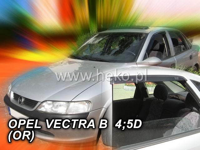 Heko • Ofuky oken Opel Vectra B 96--02 (+zadní) sedan • sada 4 ks