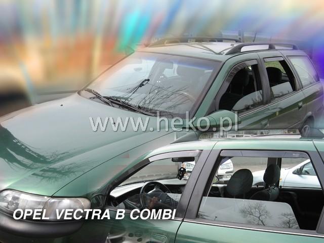 Heko • Ofuky oken Opel Vectra B 96--02 (+zadní) combi • sada 4 ks
