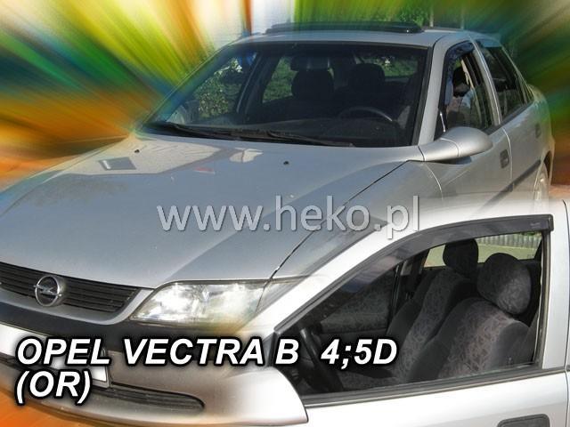 Heko • Ofuky oken Opel Vectra B 96--02 • sada 2 ks