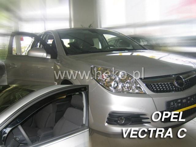 Heko • Ofuky oken Opel Vectra C 2002- (+zadní) htb • sada 4 ks