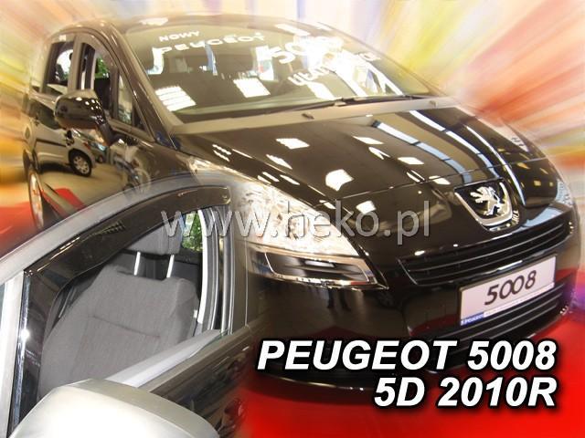 Heko • Ofuky oken Peugeot 5008 2010- • sada 2 ks