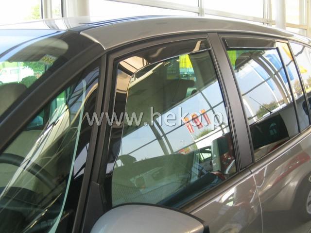 Heko • Ofuky oken Renault Espace 2003- (+zadní) • sada 4 ks
