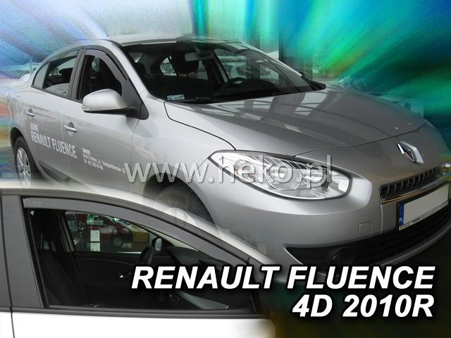Heko • Ofuky oken Renault Fluence 2010- • sada 2 ks