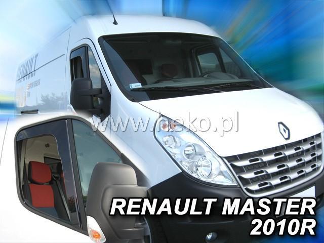 Heko • Ofuky oken Renault Master 2010- • sada 2 ks