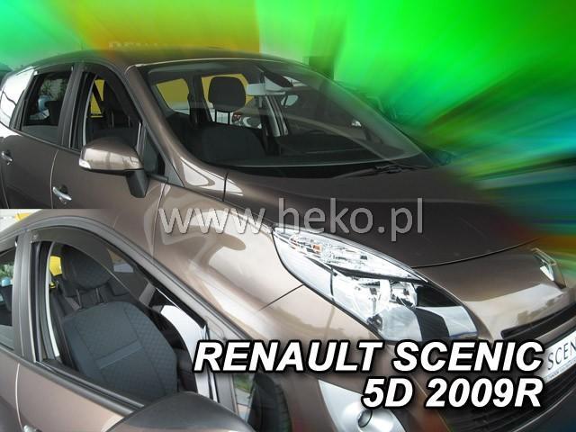 Heko • Ofuky oken Renault Scenic 2009- • sada 2 ks