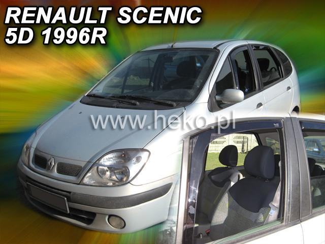 Heko • Ofuky oken Renault Scenic 96--02 • sada 2 ks