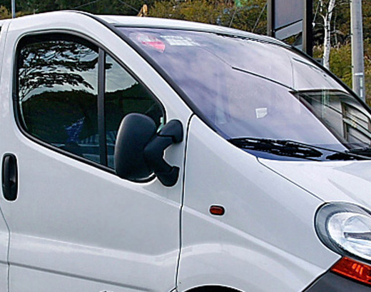 Heko • Ofuky oken Renault Trafic 2001- • sada 2 ks