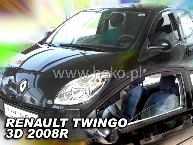 Heko • Ofuky oken Renault Twingo 3D 2008- • sada 2 ks