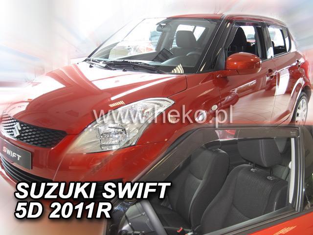 Heko • Ofuky oken Suzuki Swift 11/2010- • sada 2 ks
