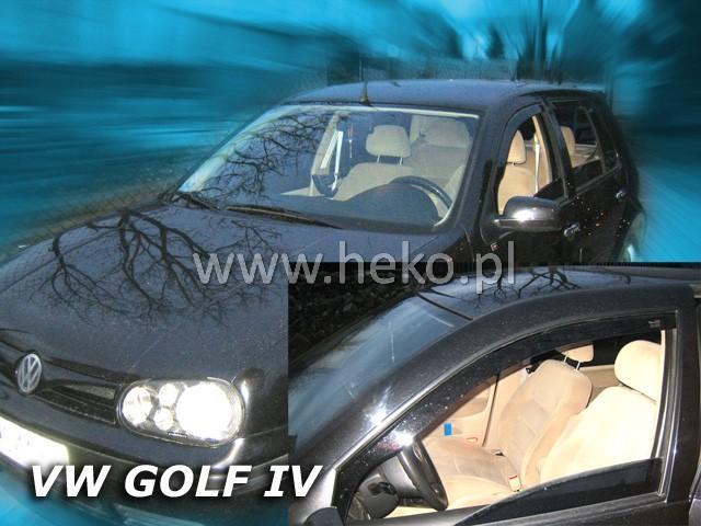Heko • Ofuky oken Volkswagen VW Golf IV 97--04 • sada 2 ks