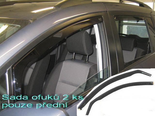 Heko • Ofuky oken Volkswagen VW Polo 3D 2002- • sada 2 ks