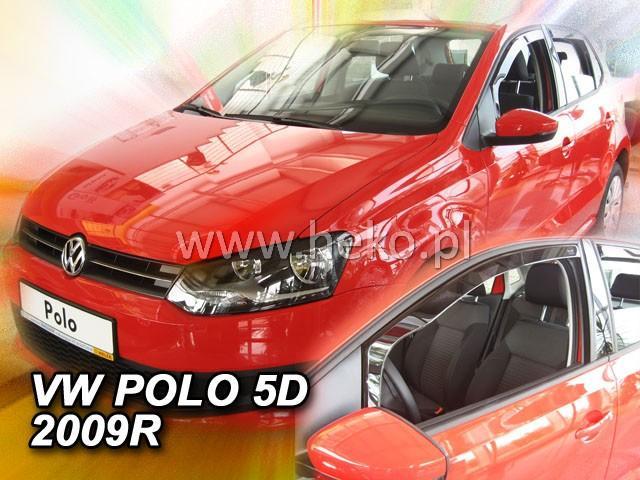 Heko • Ofuky oken Volkswagen VW Polo 2009- • sada 2 ks