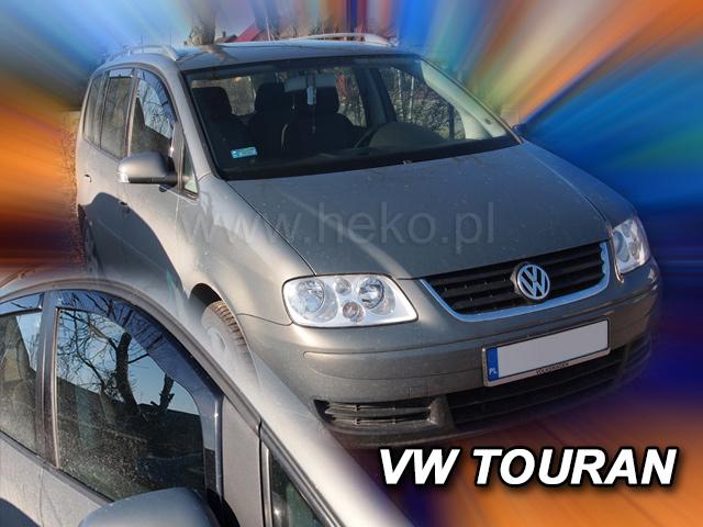 Heko • Ofuky oken Volkswagen VW Touran 2003- • sada 2 ks