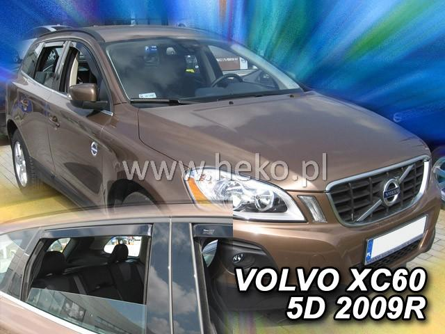 Heko • Ofuky oken Volvo XC60 2008- (+zadní) • sada 4 ks