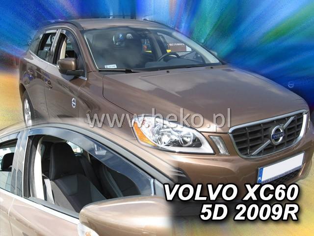 Heko • Ofuky oken Volvo XC60 2008- • sada 2 ks