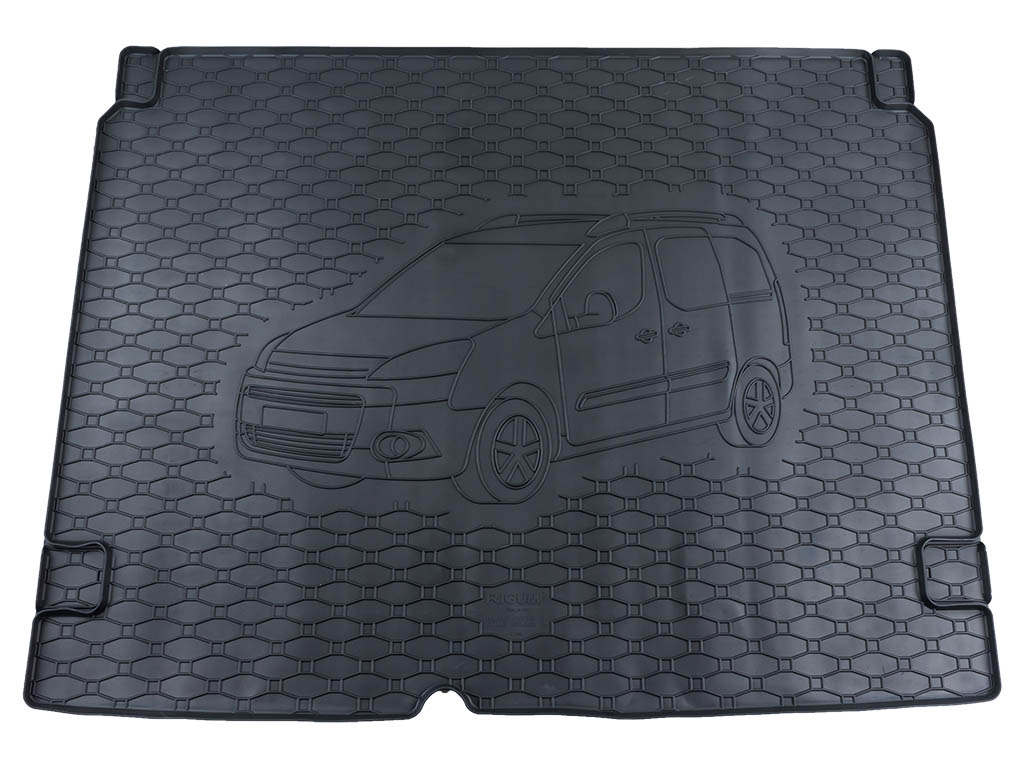 Vana do kufru Peugeot Partner II 2008-2017 • gumová