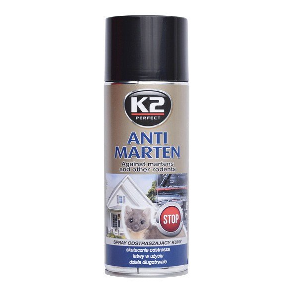 Odpuzovač kun a hlodavců K2 • sprej 400ml