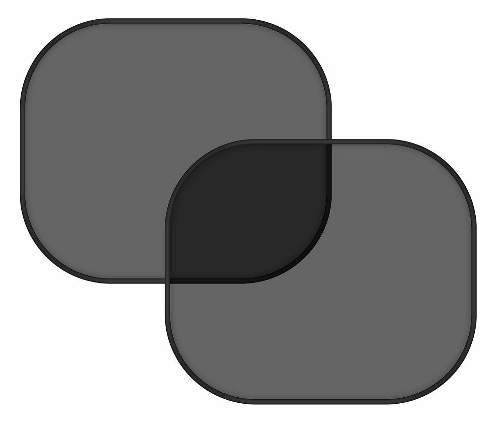 Compass • Sluneční clona na boční okno černá 2 ks