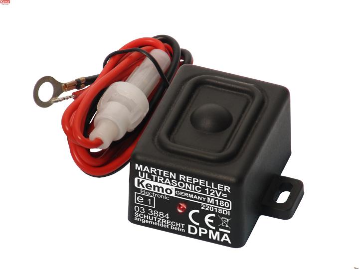 Kemo • Odpuzovač kun a hlodavců do auta M180