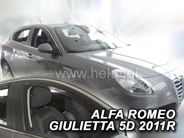 Heko • Ofuky oken Alfa Romeo Giulietta 2010- • sada 2 ks
