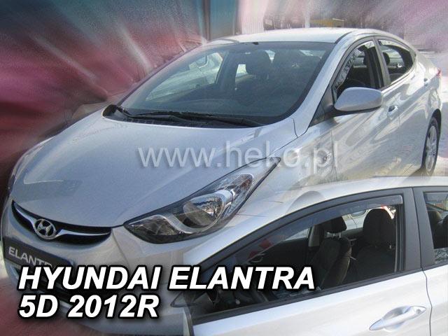 Heko • Ofuky oken Hyundai Elantra 2010- • sada 2 ks