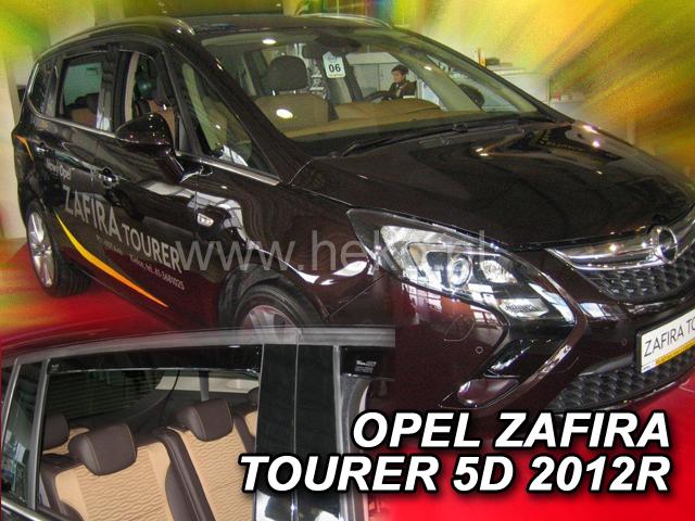 Heko • Ofuky oken Opel Zafira Tourer 2012- (+zadní) • sada 4 ks