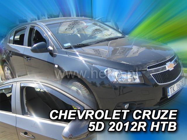 Heko • Ofuky oken Chevrolet Cruze 2011- • sada 2 ks