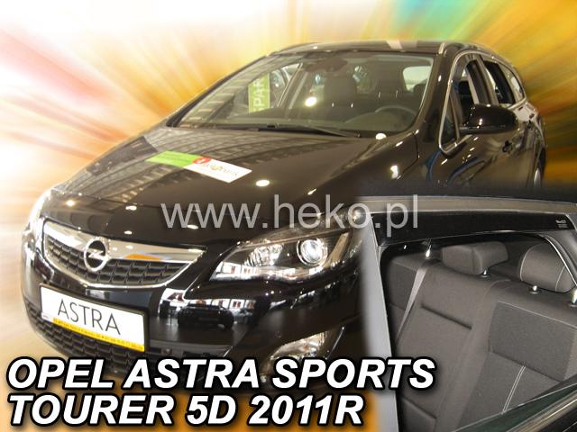 Heko • Ofuky oken Opel Astra IV J 2011- (+zadní) combi • sada 4 ks