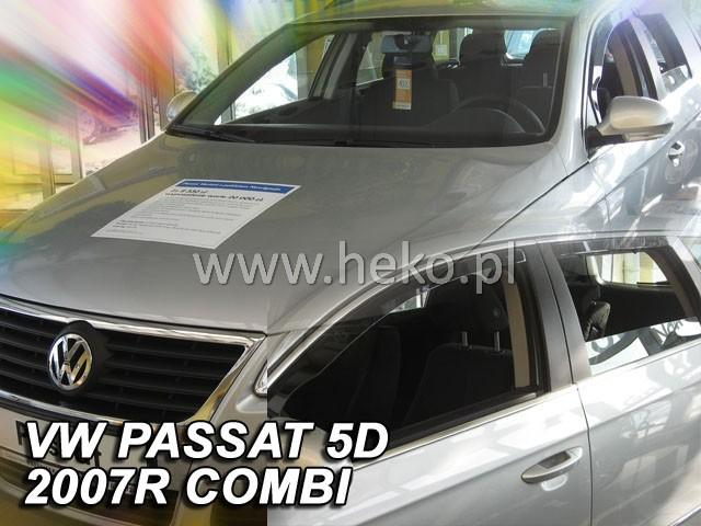 Heko • Ofuky oken Volkswagen VW Passat B7 2010- (+zadní) combi • sada 4 ks