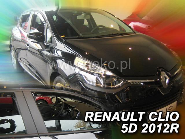 Heko • Ofuky oken Renault Clio IV 2012- • sada 2 ks