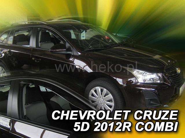 Heko • Ofuky oken Chevrolet Cruze 2012- combi • sada 2 ks