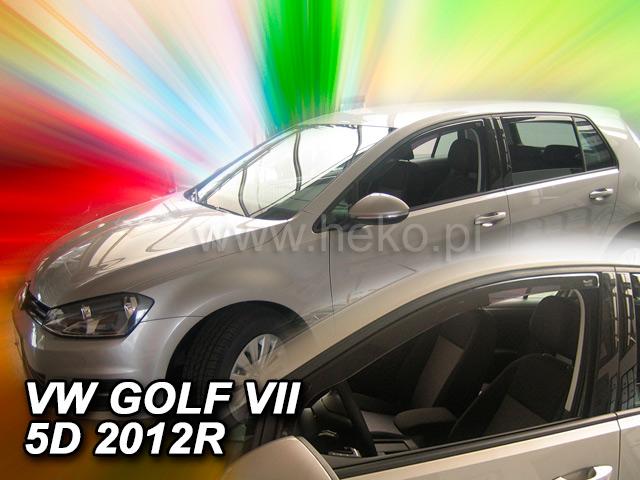 Heko • Ofuky oken Volkswagen VW Golf VII 2012- htb • sada 2 ks