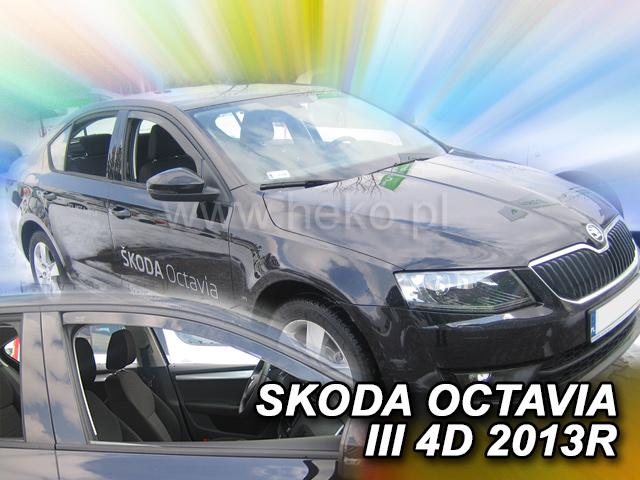 Heko • Ofuky oken Škoda Octavia III 2013- • sada 2 ks