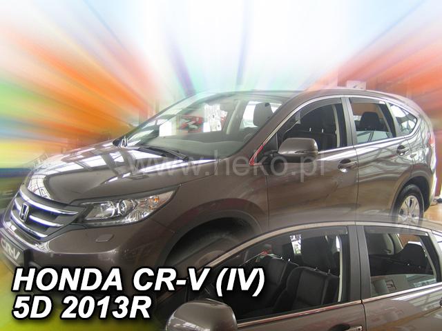 Heko • Ofuky oken Honda CR-V 2013- (+zadní) • sada 4 ks