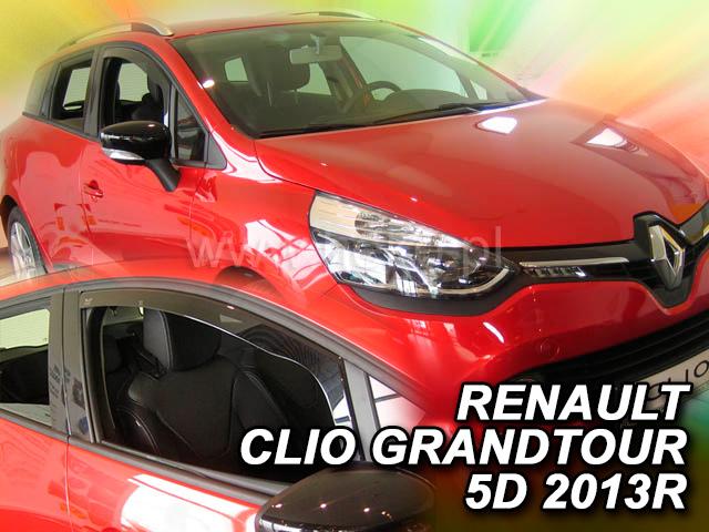Heko • Ofuky oken Renault Clio IV Grandtour 2013- • sada 2 ks