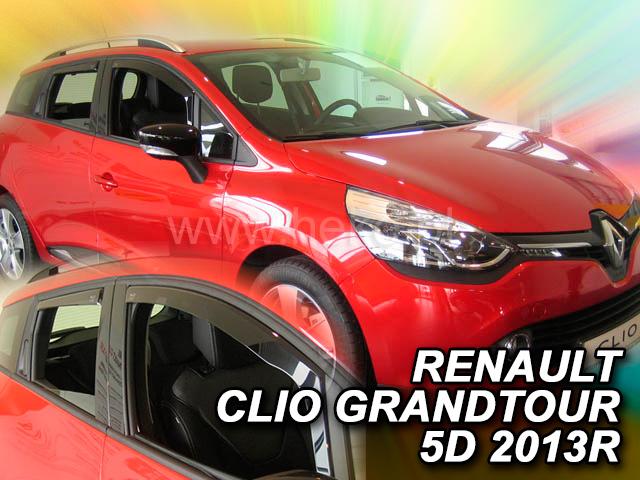 Heko • Ofuky oken Renault Clio IV Grandtour 2013- (+zadní) • sada 4 ks
