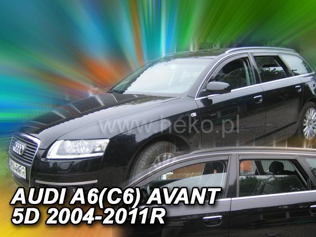 Heko • Ofuky oken Audi A6 2004- (+zadní) avant • sada 4 ks